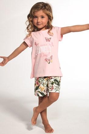 Пижама за момичета Butterfly