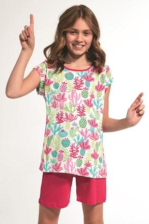 Пижама за момичета Cactus