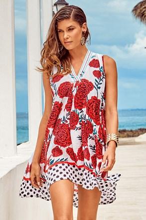 Плажна рокля Itaca red
