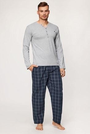 Сиво-синя пижама Calebron
