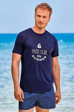 Тъмносиня тениска David 52 Yacht Club