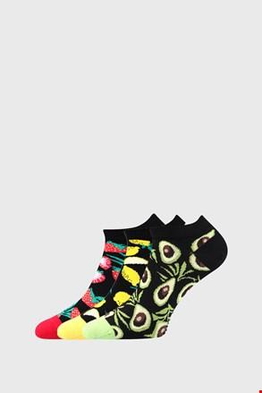 3 PACK дамски чорапи с плодове