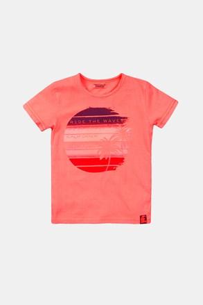 Тениска за момчета Summer