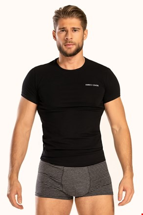 Черен сет от тениска и боксерки Alaric