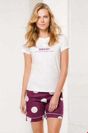 Дамски бяло-розов комплект Brunch Day