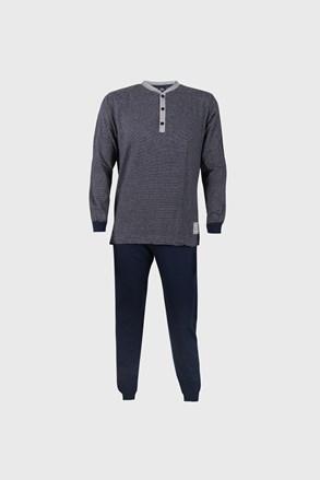Синя раирана пижама Bart