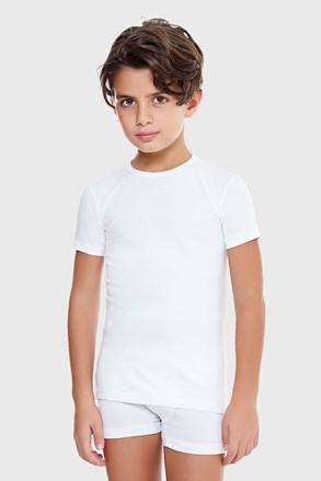 Тениска за момчета E. Coveri basic  бяла