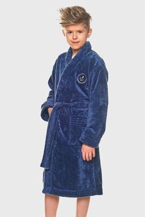 Халат за момчета Elegant син