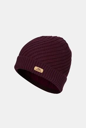 Дамска виолетова шапка Twisted