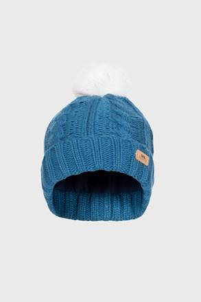 Детска шапка Ashleigh синя