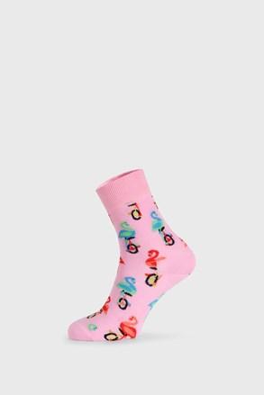 Чорапи Happy Socks Flamingo Half Crew