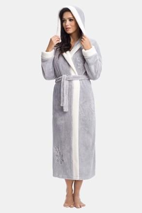 Дамски халат Annie сив