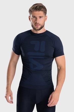 Тъмносиня функционална тениска FILA Dryarn Tech