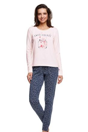 Дамска памучна пижама Hearty