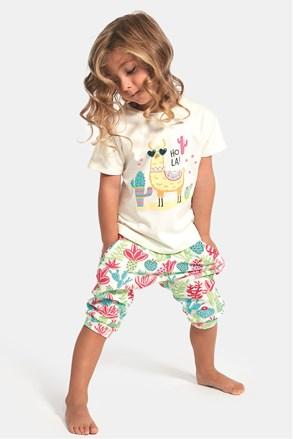 Пижама за момичета Hola lama