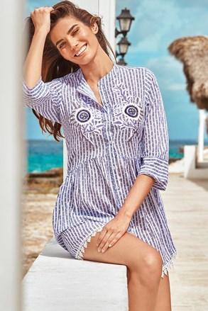 Плажна рокля тип риза Sandra