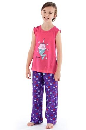 Пижама за момичета Mermaid