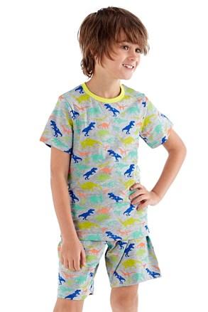 Пижама за момчета Roar къса