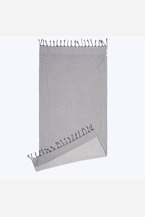 Плажна кърпа Kikoy сивосиня