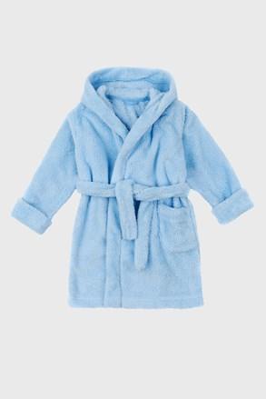 Светлосин халат за момчета Simple