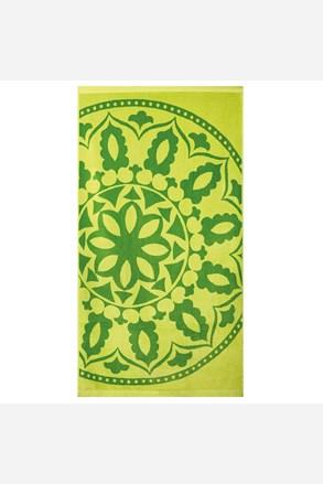 Плажна кърпа Mandala зелена