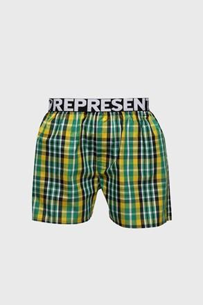 Жълто-зелени шорти Represent Classic Mike