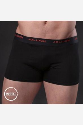 Мъжки боксерки JOLIDON Silk Touch Black