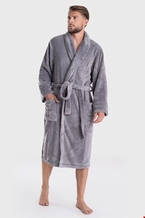 Тъмносив халат DKNY