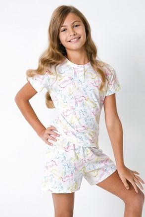 Пижама за момичета Jednorožec II