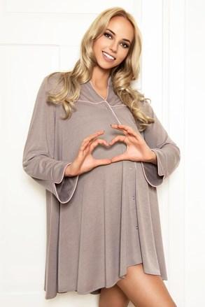 Нощничка за бременни и  кърмачки Anna
