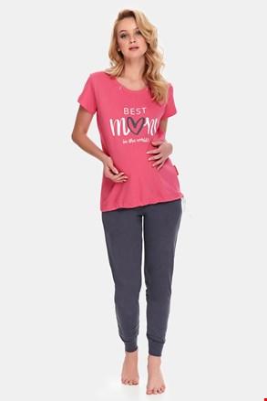 Пижама за бременни и кърмачки Best Mom Rose