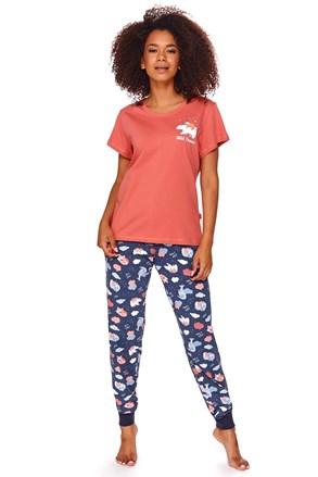 Дамска пижама Ruth червена