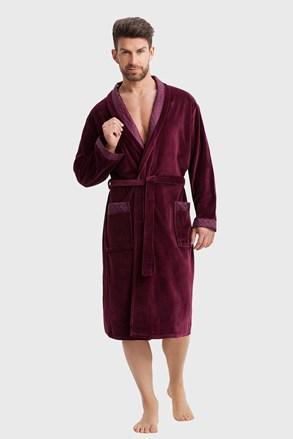 Мъжки халат Marcello bordo