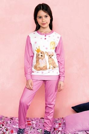 Пижама за момичета Hallo розова