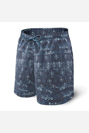 Мъжки бански шорти SAXX Blue Waterfall