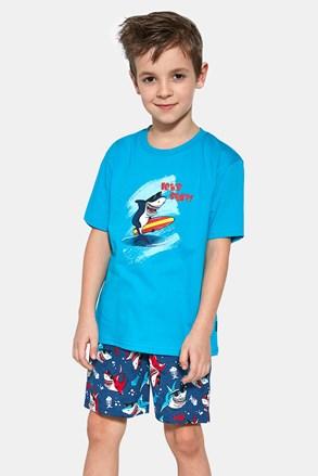 Пижама за момчета Shark surf