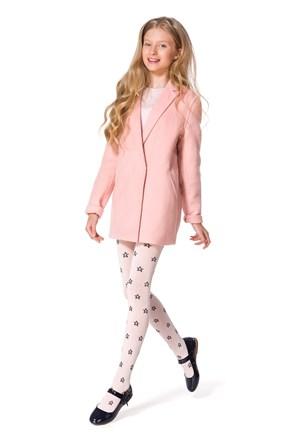 Памучен чорапогащник за момичета Solana růžové