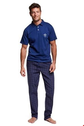 Мъжка пижама с якичка Vote