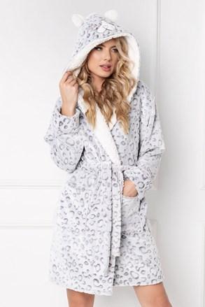 Дамски халат Wild look Grey