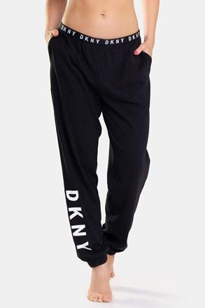 Спортно долнище DKNY Casual Fridays черно