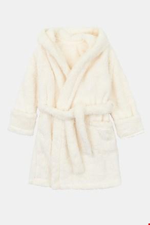 Сметанов халат за момичета