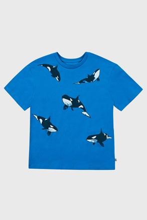 Тениска за момчета Whales