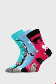 3 PACK чорапи за момичета Animals