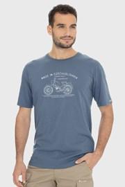 Синьо-сива тениска Bushman Bobstock