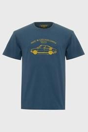 Синя тениска Bushman Bobstock