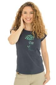 Дамска синя тениска Bushman Natalie