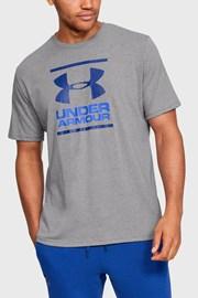 Сиво-синя тениска Under Armour Foundation