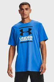 Синя тениска Under Armour Foundation