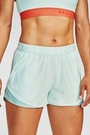 Зелени спортни къси панталони Under Armour Play Up
