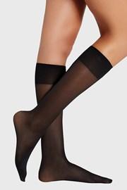 Дамски силонови чорапи до под коляното 40 DEN